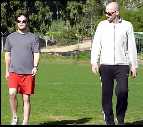 מתוך הסרטון: אימון לקראת מרתון - עבודה בהליכה.