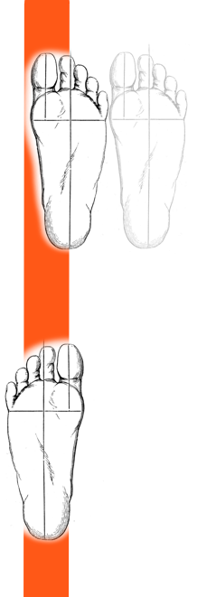 feet one line